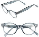 Derek Lam Women's 45Mm Optical Glasses - Grey Smoke