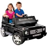 Mercedes Benz Kid Motorz G55 AMG 2-Seater 12-Volt Ride-On in Black