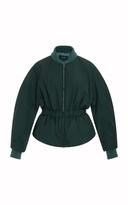Isabel Marant Dex Cinched Ribbed Cuff Jacket