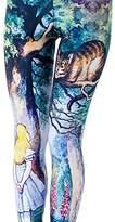 Idingding Womens Hot Sale Galaxy Star Printed High Waist Leggings Pants