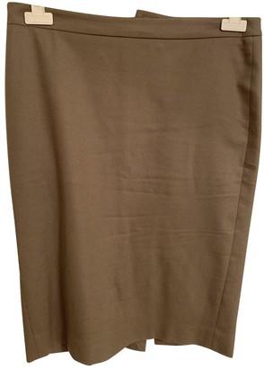 Patrizia Pepe Beige Linen Skirt for Women
