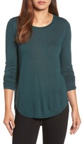 Halogen Women's Shirttail Tee