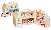 Melissa & Doug Girls' Fold & Go Dollhouse