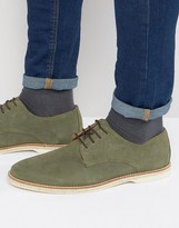 Dune Barrock Suede Lace Up Shoe