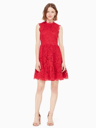 Kate Spade Poppy Field Lace Dress