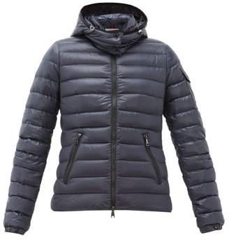 Moncler Down-filled Lightweight Nylon Jacket - Womens - Navy