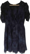 Dagmar House Of Blue Silk Dress for Women