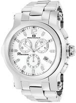 Oceanaut Mens Baccara XL Silver Bracelet Watch