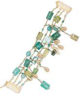 Rosantica Chela Gold-tone Quartz Bracelet - one size