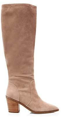 Cole Haan Women's Willa Suede Knee-High Boots