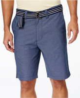 American Rag Men's Micro Stripe Shorts, Only at Macy's