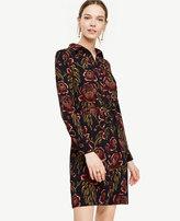 Ann Taylor Rose Garden Shirtdress