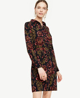 Ann Taylor Tall Rose Garden Shirtdress