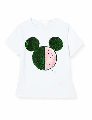 Name It Girl's Nkfminnie Toka Ss Top Wdi T-Shirt