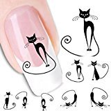 Sandistore Fashionable Water Transfer Slide Decal Sticker Nail (XF1442)