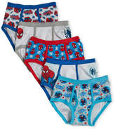 Marvel Boys 4-7) 5-Pack Spiderman Briefs