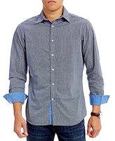 Daniel Cremieux Jeans Circle Print Long-Sleeve Woven Shirt