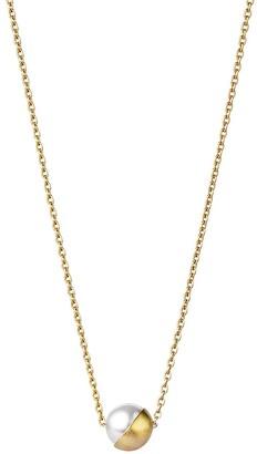 Shihara Half Pearl Necklace 45