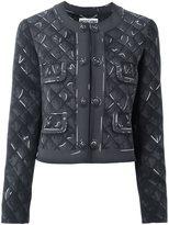 Moschino trompe-l'œil print jacket