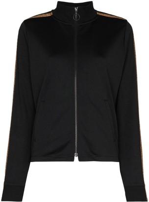 The Upside Kodi metallic stripe track jacket