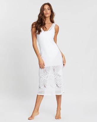 Jets Intrigue Midi Dress