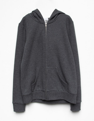 Full Tilt Zip Front Girls Oversized Hoodie