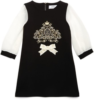Lesy Logo-Crest Tunic Dress (4-14 Years)