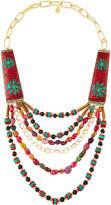 Devon Leigh Tribal-Inspired Multi-Strand Statement Necklace