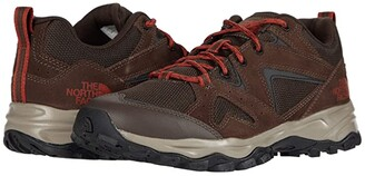 The North Face Trail Edge (Coffee Brown/Picante Red) Men's Shoes