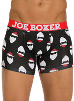 Joe Boxer Here Comes Santa Claus Fitted Boxers