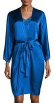 Stella McCartney Eloise Enchanting Silk-Blend Robe