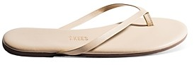 TKEES Women's Foundations Leather Flip-Flops