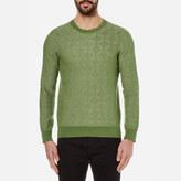 Gant Men's Textured Crew Neck Knitted Jumper