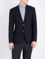 Armani Collezioni Single-breasted wool jacket