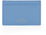 Smythson Panama leather cardholder
