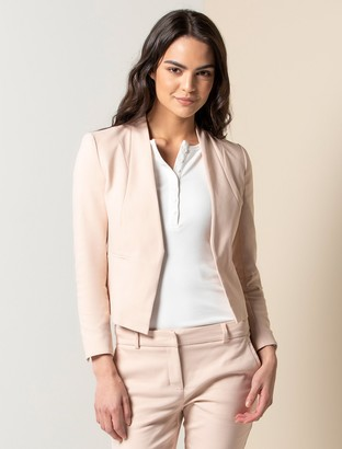 Forever New Ashley Petite Blazer - Pink - 10