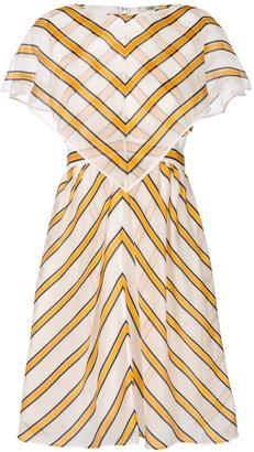Fendi striped shift dress