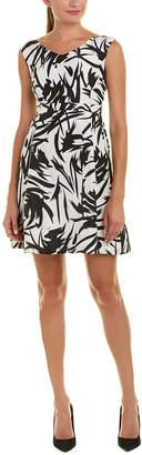 V&A Vogue Va Silk A-Line Dress