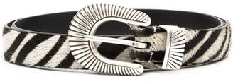 Andersons Crocodile-Effect Buckle Belt