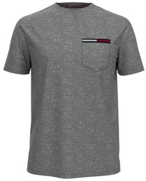 Tommy Hilfiger Men's Flag Icon Pocket T-Shirt