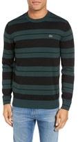 Lacoste Jersey Stripe Crewneck Sweater