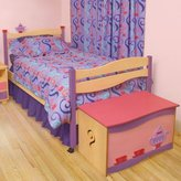 Room Magic Natural Twin Bed, Girl Teaset