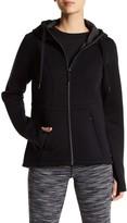 Betsey Johnson Tech Fleece Hooded Jacket