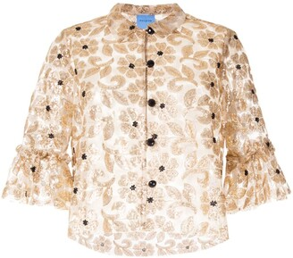 macgraw Bourgeois embellished top
