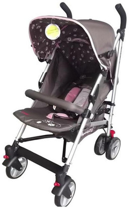 Aussie Baby Elegant Stroller - Floral Pink