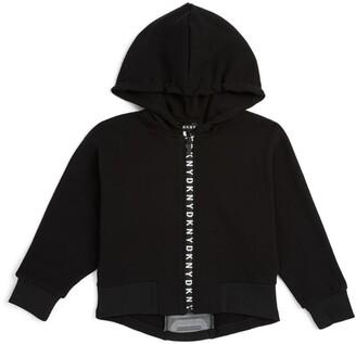 DKNY Logo Zip-Up Hoodie (6-16 Years)
