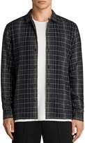 AllSaints Alverstone Slim Fit Button-Down Shirt