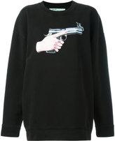 Off-White Hand Gun sweatshirt - women - Cotton - S