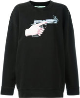 Off-White Hand Gun sweatshirt