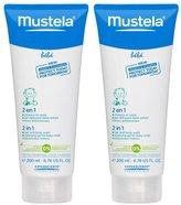 Mustela Bebe Range 2 in 1 Hair & Body Wash